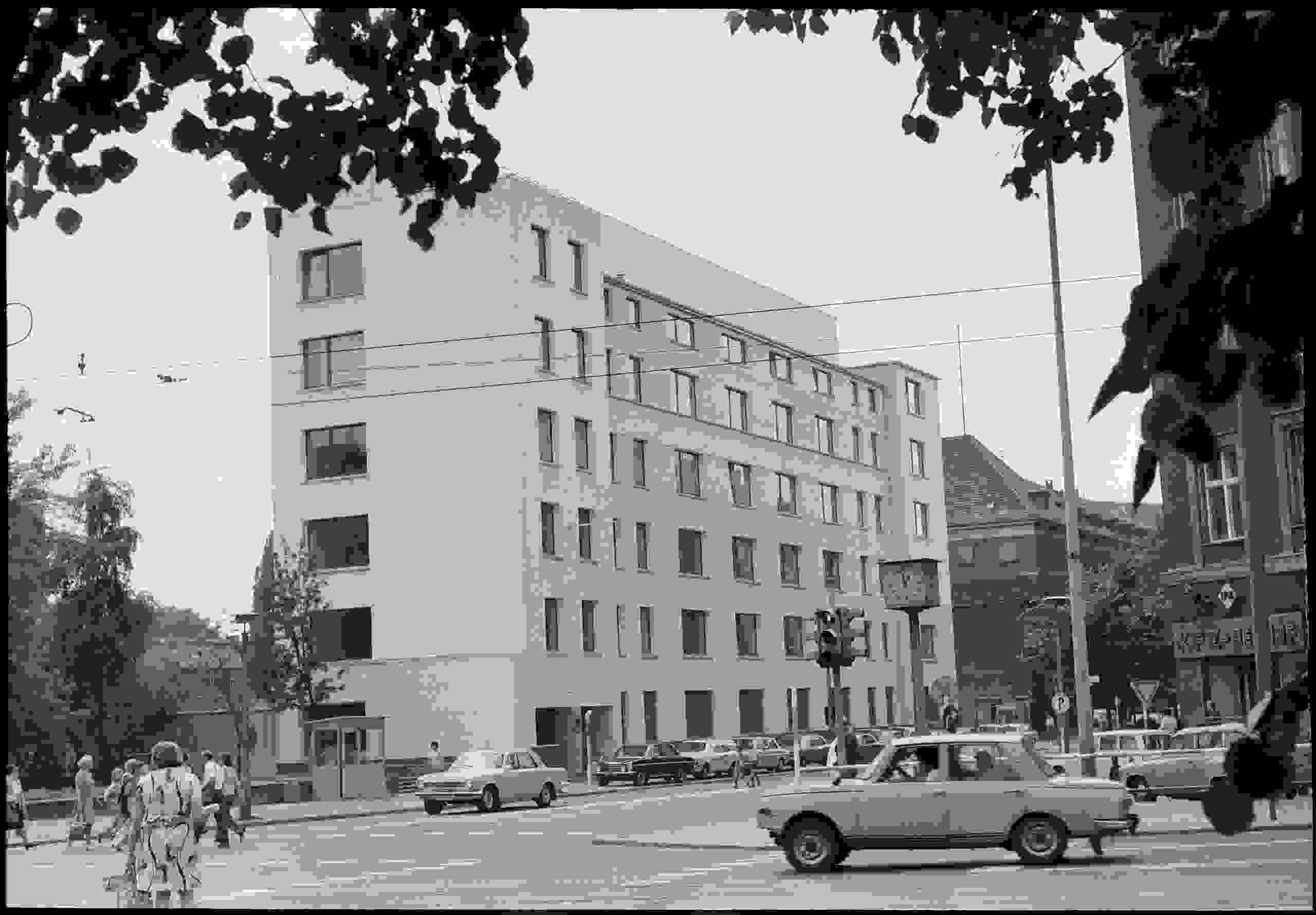 Die Ständige Vertretung der Bundesrepublik Deutschland in der DDR, Hannoversche Straße 30, in Ost-Berlin 1974