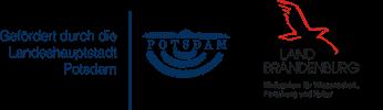 Logos Land Brandenburg und Landeshauptstadt Potsdam