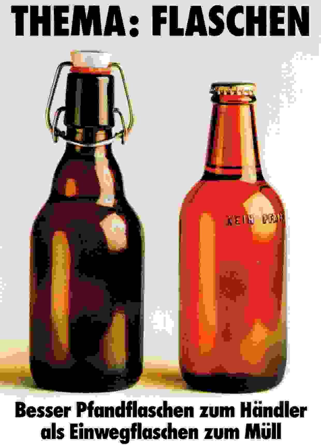 Thema Flaschen